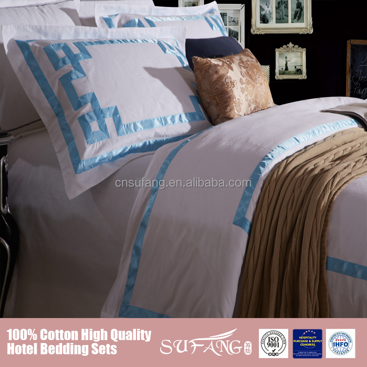 wholesale hotel item luxury size of queen hotel bedding