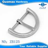 Zinc Alloy Hardware Pin Buckle For Leather Belt