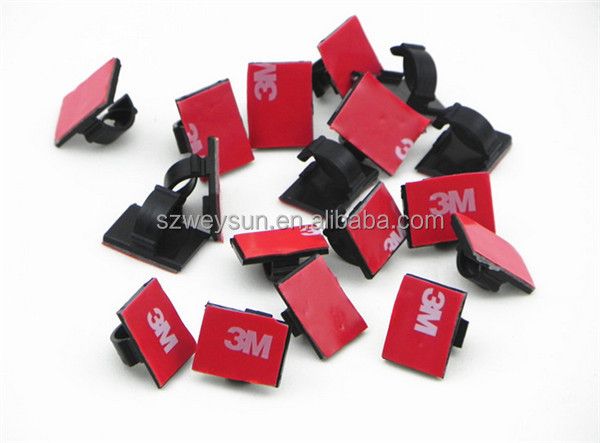 ARECORD 3M Adhesive Car Cable Clips Wire Holder to Fix Cables