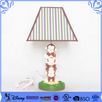 Fantastic monkey Modelling Custom Energy Saving Table Lamps