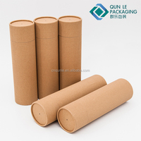 Unique Design Cardboard Kraft Paper Tube Package for Candle