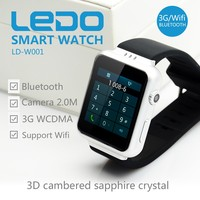 Fashion health care function K8 smart watch, 3G Smart watch phone