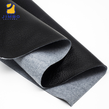 China Printed Material Semi Perforated Stocklot Manufacturer 60% Pu 40%Rayon Synthetic Leather Fabric For Shoes