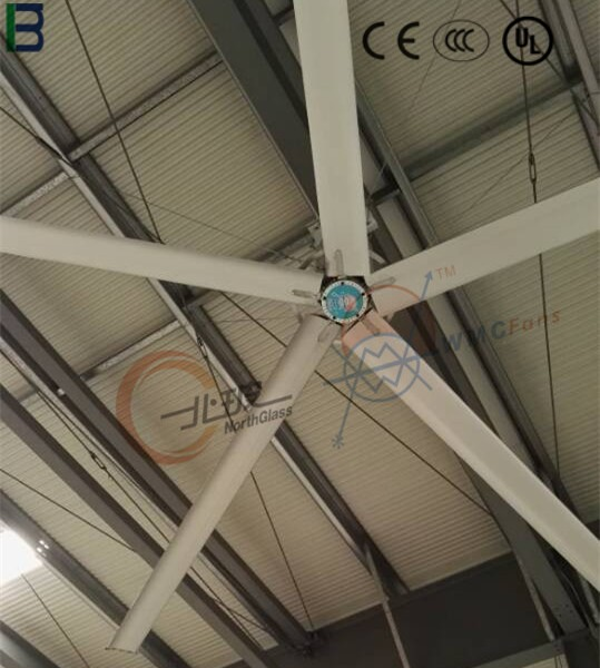 high performance durable advanced aluminum alloy 7.1m big industrial fan