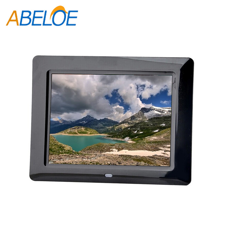 Hd Photo Video 8'' Video Blue Film Digital Picture Frame
