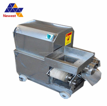 hot sale fish meat strainer/fish processing machinery/fish equipment