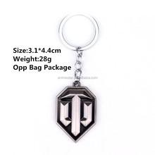 Fashion Game Product Keychain New Arrival Anime World of Tanks Keychain