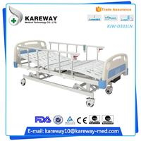 Hospital equipment modern 3 cranks the medical supply store abs hospital bed