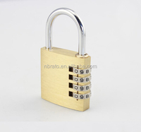 colorful Resettable Combination Padlock