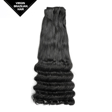 2016 Hot Selling Qingdao Wholesale Double Drawn Weft New Style Russian Virgin Hair Extensions