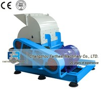 Long Working Life Biomass Crusher Wood Chip Crushing Machine