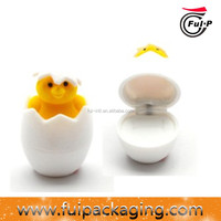 Wholesale High Quality newest egg shape velvet ring jewelry box