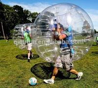 commercial inflatable body zorb/bubble soccer/bubble ball for football