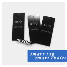 RFID Custom Paper Luggage Tag Clothing Hang Tag