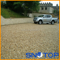 Sinotop plastic light weight easy to install gravel stabilizer grid