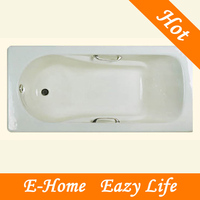 bathtub enameled cast iron