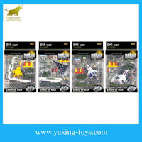 1:87 New military diecast toy series, metal airplane set for kids YX001161