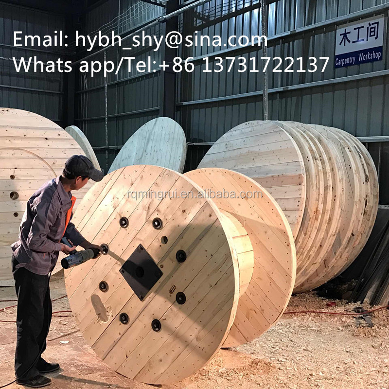 Large Empty Wooden Cable Spools For Sale From Ruiming - Buy Wooden ...