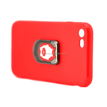 360 Degrees Rotation with Ring Grip Holder Soft TPU Stand Cover Case For 7G
