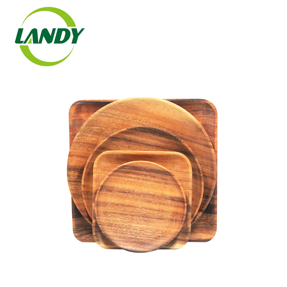 Top Quality Serving <strong>Plate</strong> Eco Friendly Wooden food <strong>Plate</strong>