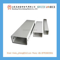 Slotted aluminum cable tray, bracket support cable tray prices with ISO9001