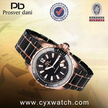 Top 10 Wrist Watch Brands Sports Watches Men with Gold Bezel & Stainless Stell Back