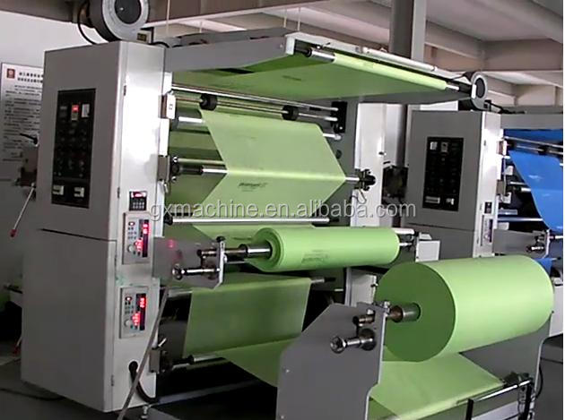 QTL Type high speed 2 colors Non Woven Flexo Printing,Nonwoven Fabric Printing Machine,Flexo Printing Machine