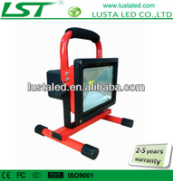 3/6/8 Hours Working Time, 5W/10W/20W/30W/50W, Samsung Lithium Battery, Rechargeable 20W LED Flood Lighting
