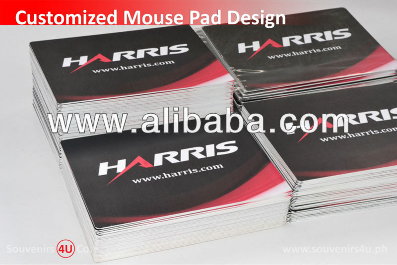 Customized Mousepad Rubber for promotional giveaway