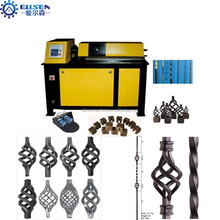 EL-DN25D Ornament Wrought Iron twist and Basket Making Machine