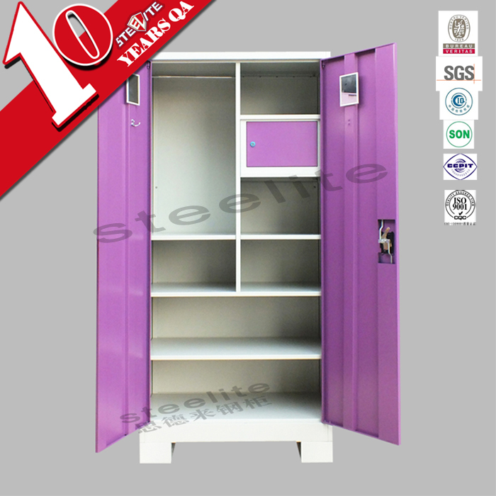 Cheap 3 Door Iron Almirah Cabinet Godrej Steel Almirah