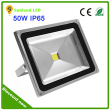 shenzhen pir led flood light sunland brand IP65 waterproof dc 12v led flood light 50 watt