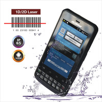 Industry Android laser barcode scanner with RFID reader 3G Smart Phone