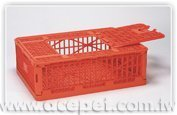 198 Transport cage for poultry / plastic poultry transport cage / Poultry cage