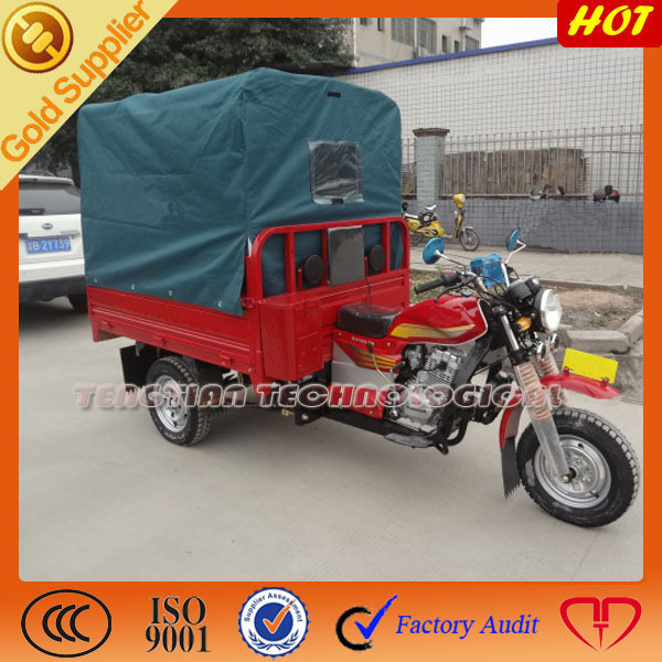 Used three wheeler motorcyle for sale/ 3 wheeler for scooter with tricycle