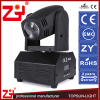 ce rohs approval mini theatre stage light 10w led stage light