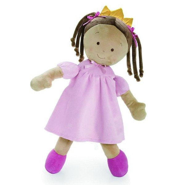 Lovely plush stuffed girl dolls and toys