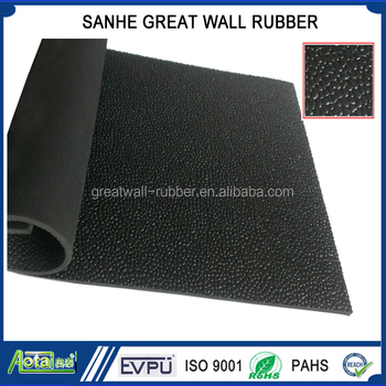 Anti slip rubber flooring mat horse rubber sheet