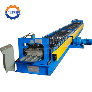 High Quality Metal Flooring Decking Panel Roller Former Machine
