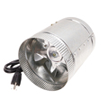 4 6 8 Inch Indoor Hydroponic Stainless Steel Exhaust Duct Booster Fans