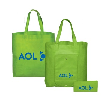 Free Sample Eco Supermarket Foldable Tote Packaging Custom Reusable Biodegradable Non Woven Folding Shopping Bag