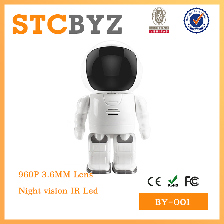 promotion gift HD 960P wireless Pan and Tilt robot ip camera