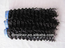 Spot goods!Hot sale!High quality!Brazilian Human Deep wave remy Hair extension hair weft