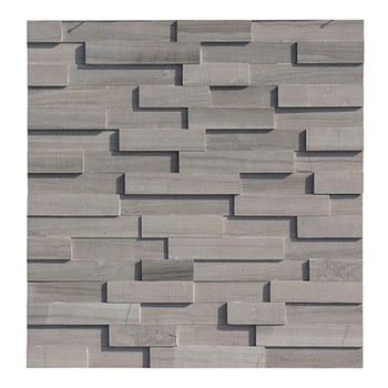 Top quality classical culture stone classic marble class a outside wall athens brown tile