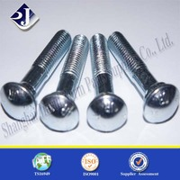 Alibaba Top Quality Made In China Zinc Plated Carbon Steel Track Bolt