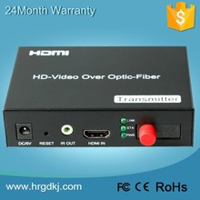 2015 Optic HDMI converter 720P/1080P HDMI transceiver, powerline hdmi extender