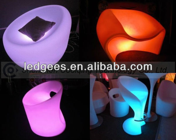 FANCY! Modern LED Sex Party Decoration Cube Ball Furniture with 16 Color Changing and WiFi Control !