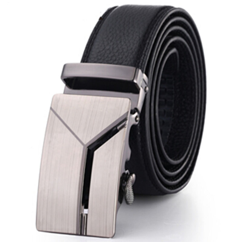 Mens Designer Belts 2017 Real Genuine Leather Belts Automatic Buckle