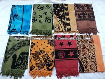 ladies fashion scarves cotton-01