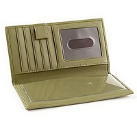 High quality leather cheque book holder wallet,cheque book holder,leather cheque book holder
